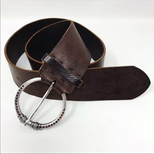 American Eagle Outfitters Brown Leather Belt M